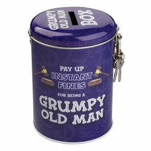 Grumpy Old Man Money Tin
