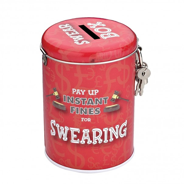 Swearing Fines Money Tin - 1