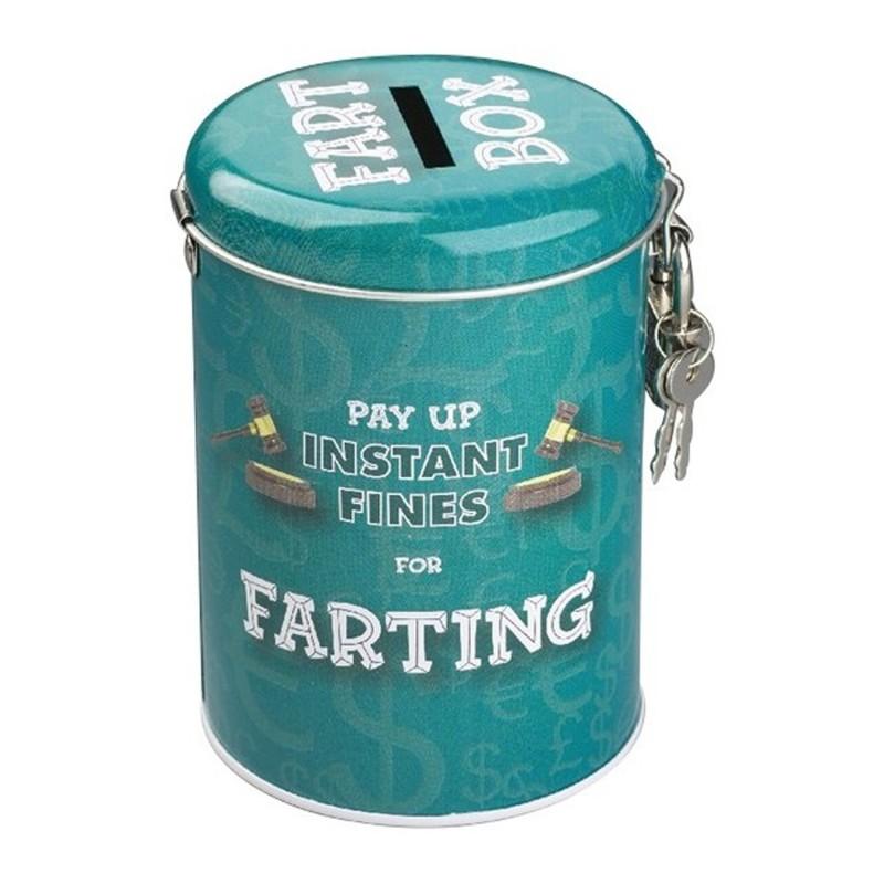 Farting Fines Money Tin