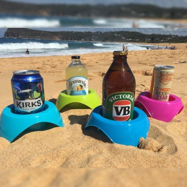 Beach & Picnic Cup Holders - Set of 4