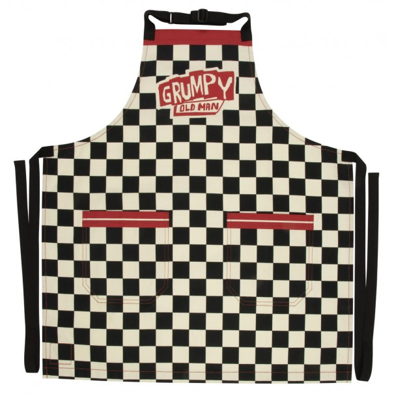 Grumpy Old Man Premium BBQ Apron - 2