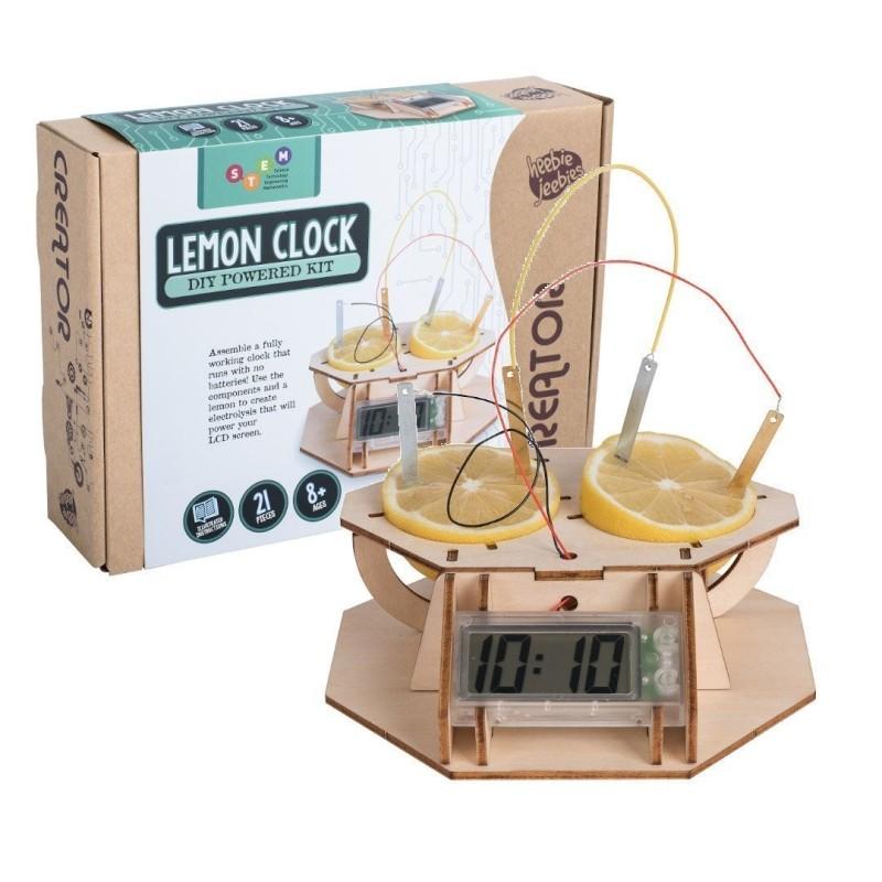 Lemon Clock - DIY Powered Kit - 1