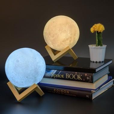 Lunar Night Light - Moon LED Light - 1