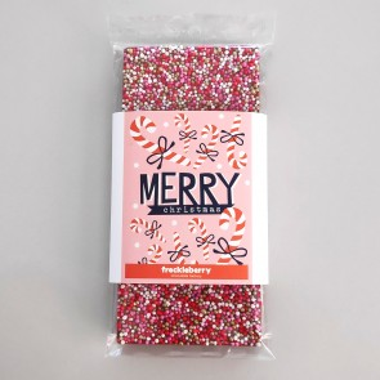 Merry Christmas Freckles Chocolate Bar - 1