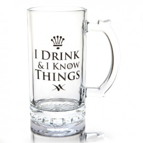 I Drink & I Know Things Beer Stein - 1
