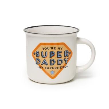 Super Mummy Cup-Puccino Porcelain Mug - 1