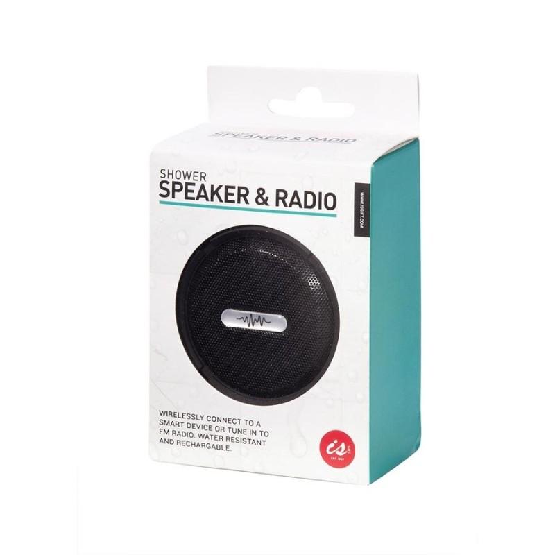 Wireless Shower Speaker And Radio - 1