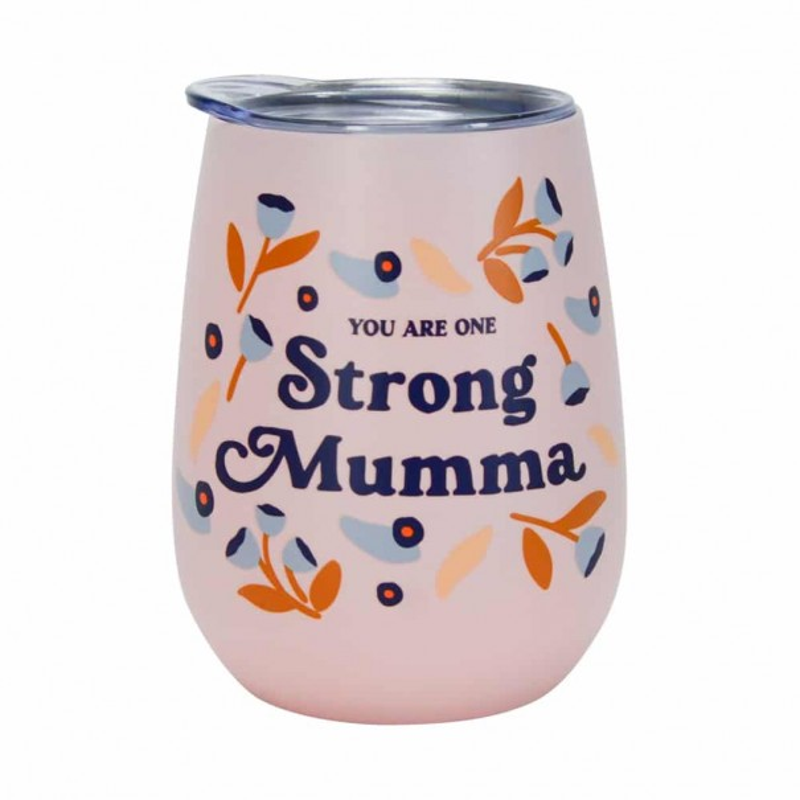 Strong Mumma Double Walled Wine Tumbler - 1