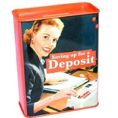 Saving Up For A Deposit Money Box - 1