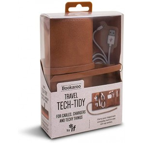 Travel Tech-Tidy Brown by IF Bookaroo - 1