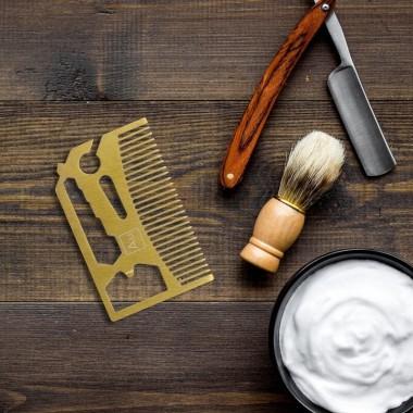 Beard Comb Multi-tool by Gift Republic - 3