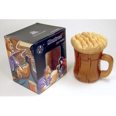 Beer Mug Wooden Puzzle