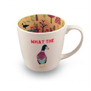 What The Duck Inside Out Mug - 1