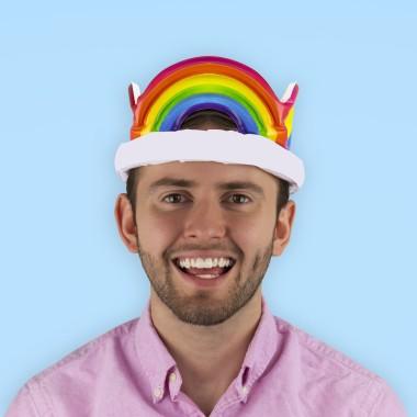 Inflatable Rainbow Crown - 1