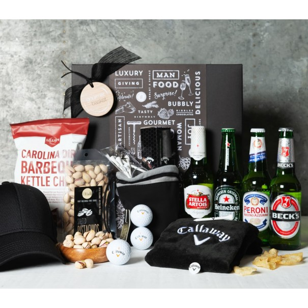 Beer, Golf and Snacks Gift Set - 1