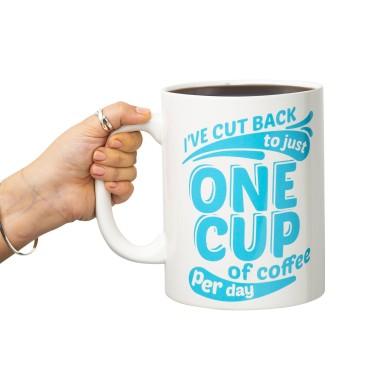 One Cup of Coffee Giant Mug - 1