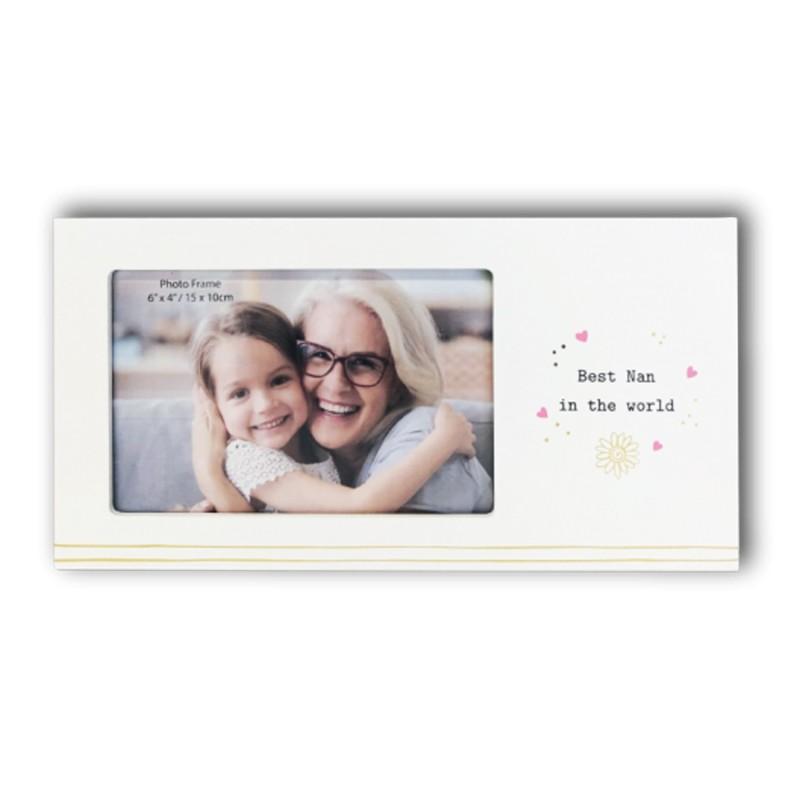 Best Nan In the World Photo Frame - 1
