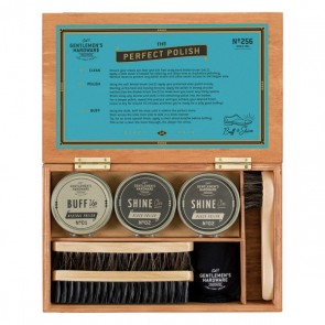 Shoe Shine Cigar Box by Gentlemen's Hardware - 1