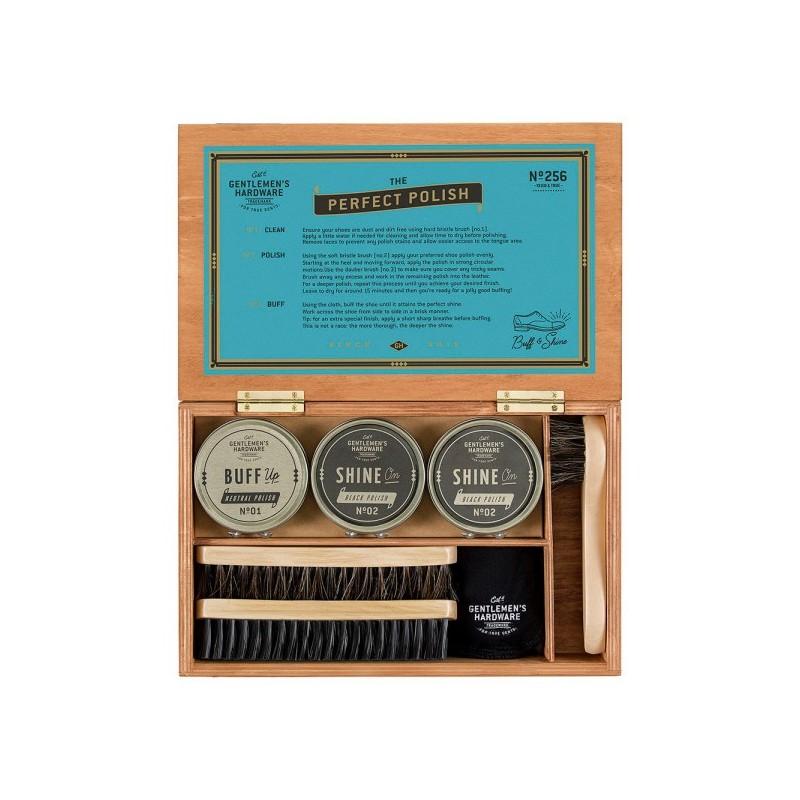 Shoe Shine Cigar Box by Gentlemen's Hardware - 1