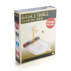 Basketball Drinking Game with Shot Glasses - 1