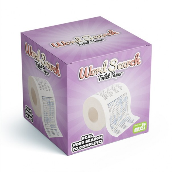 Word Search Toilet Roll - 2