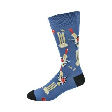 Mens Howzat Cricket Socks by Bamboozld - 1