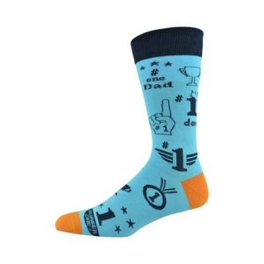 Mens No.1 Dad Socks by Bamboozld - 1