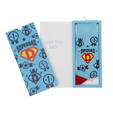 Mens Superdad Socks Card by Bamboozld - 1