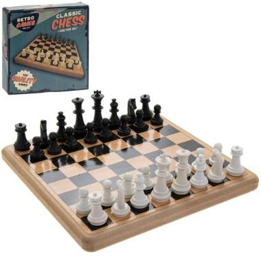 Retro Chess Set - 20cm - 1