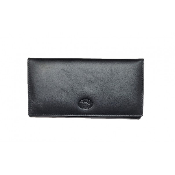 Genuine Kangaroo Leather Ladies Wallet with Coin Pocket by Adori Leather - 1