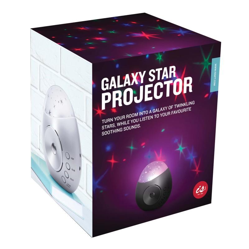 Galaxy Star Projector Night Light and Sound Machine - 1