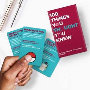 100 Things You Thought You Knew Card - 1