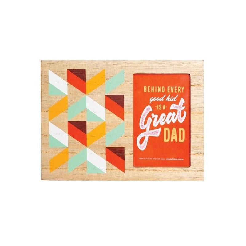 Great Dad Desktop Photo Frame - 1