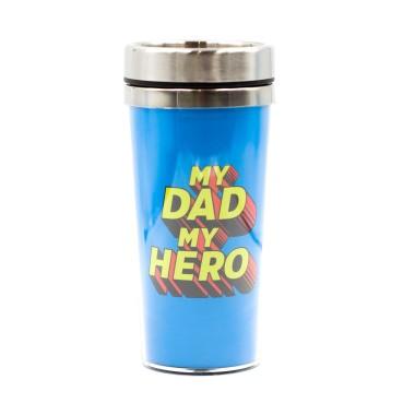 My Dad My Hero Thermal Travel Mug - 1