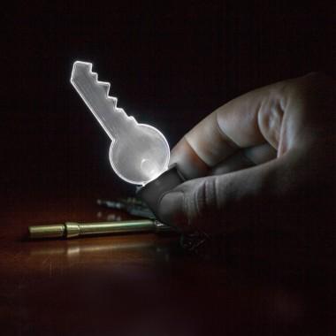 2D Light Bulb Key Chain - 1