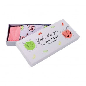 You're the Gin to My Tonic Boxed Socks - 1
