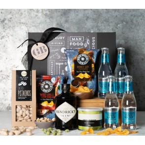 Gin and Tonic With Snacks Gift Set - 1