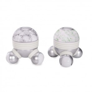 Handheld Vibrating Massager in Marble Print - 1