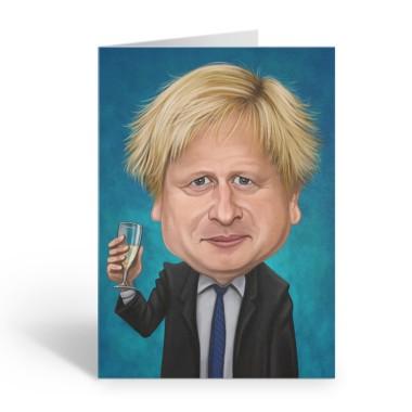 Boris Johnson Birthday Sound Card by Loudmouth - 1