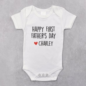 Personalised First Father's Day Bodysuit - 1