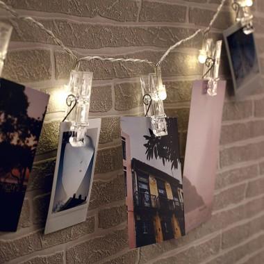 Photo Clip String Lights - 1