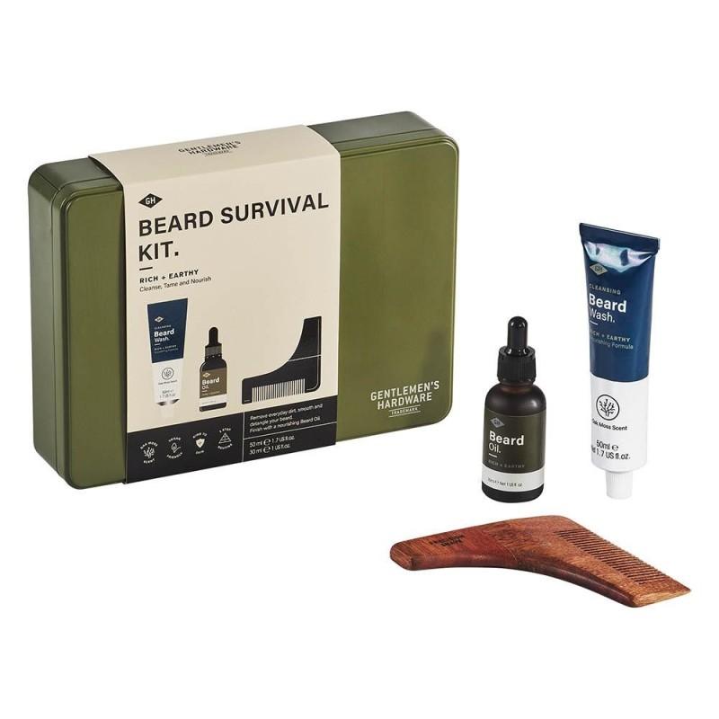 Beard Survival Kit by Gentlemen's Hardware - 1