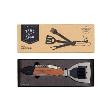 5-in-1 BBQ Multi-Tool in Acacia Wood - 1