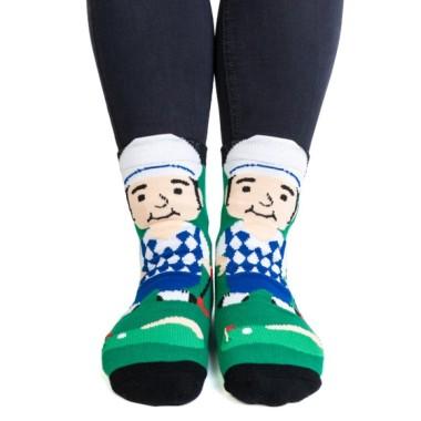 I'd Rather Be Golfing Golfer Feet Speak Socks - 1