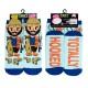Totally Hooked Fisherman Feet Speak Socks - 3