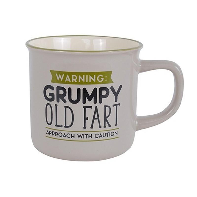 Warning Grumpy Old Fart Mug - 1