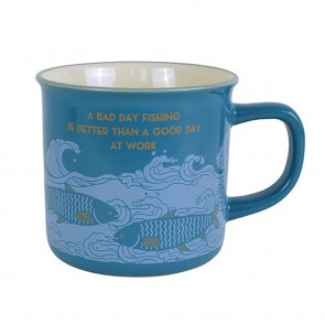 A Bad Day Fishing Is Better Than A Good Day At Work Mug - 1