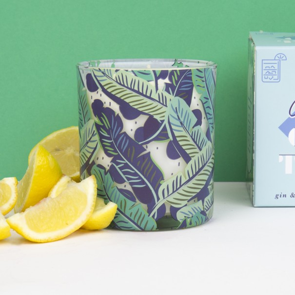 Gin & Tonic Scented Candle - 2