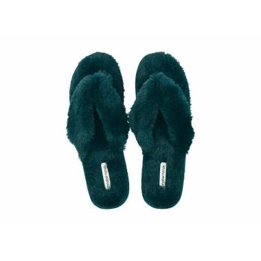 Fluffy Glam Thongs Slipper - 1