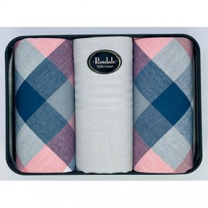 Classic Men's Hankies in a Tin by Rosdale - 1
